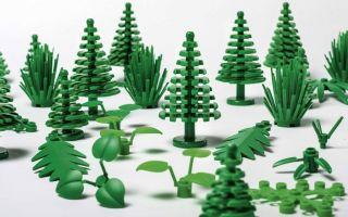 Lego будет выпускать конструктор из биопластика